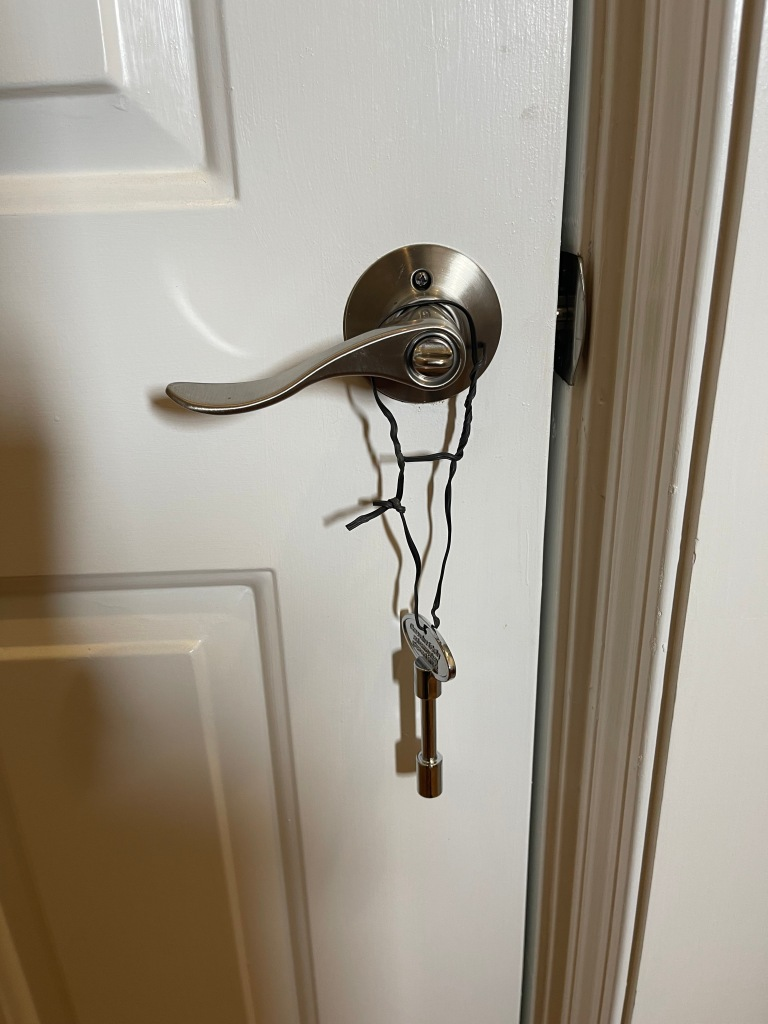Back Door and Propane key